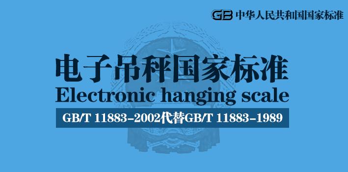 电子吊秤国家标准(GB/T 11883-2002)