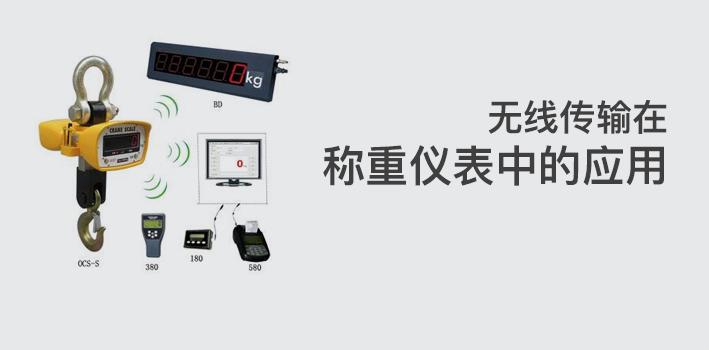 无线传输在称重仪表中的应用