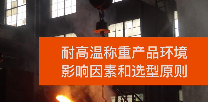 耐高温称重产品环境影响因素和选型原则