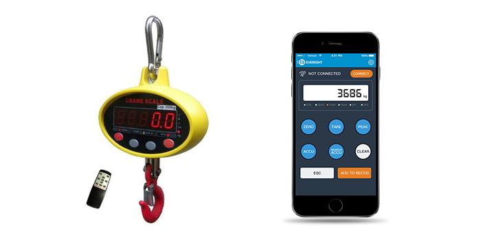 基于蓝牙4.0技术的电子吊秤,操作更轻松方便!